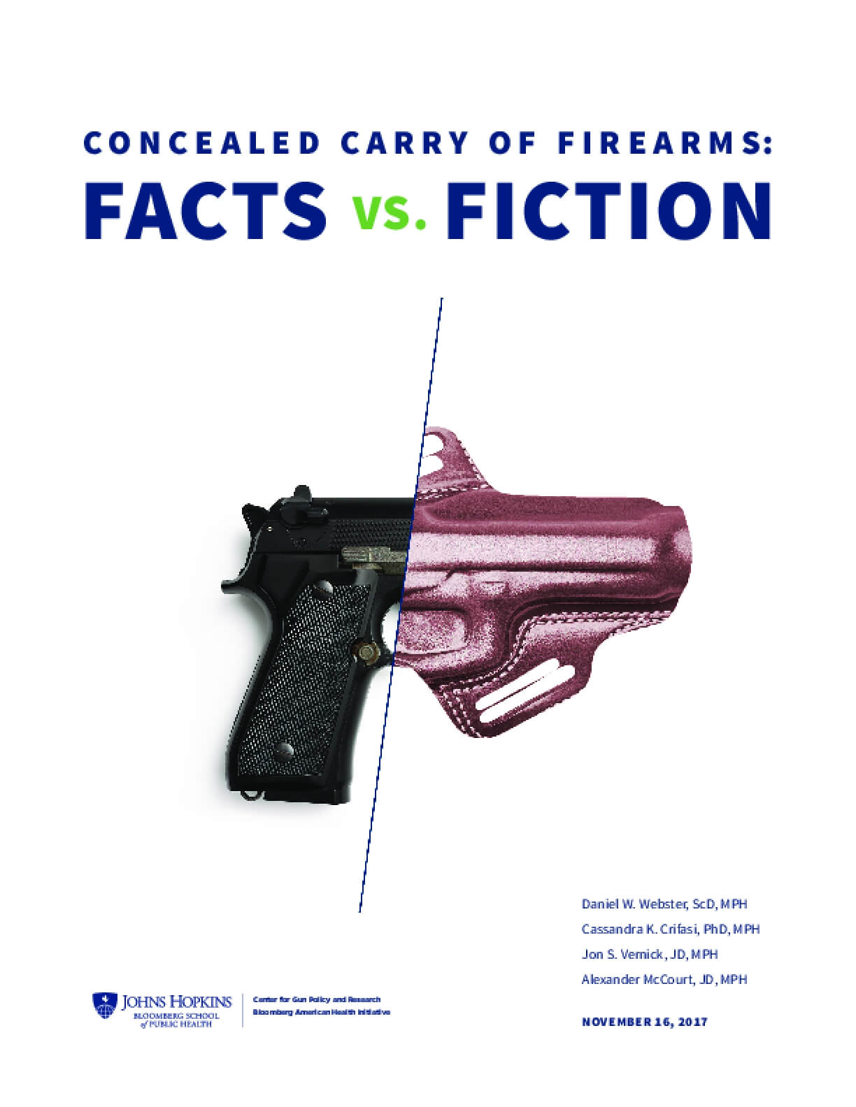 Concealed Carry of Firearms: Facts vs. Fiction