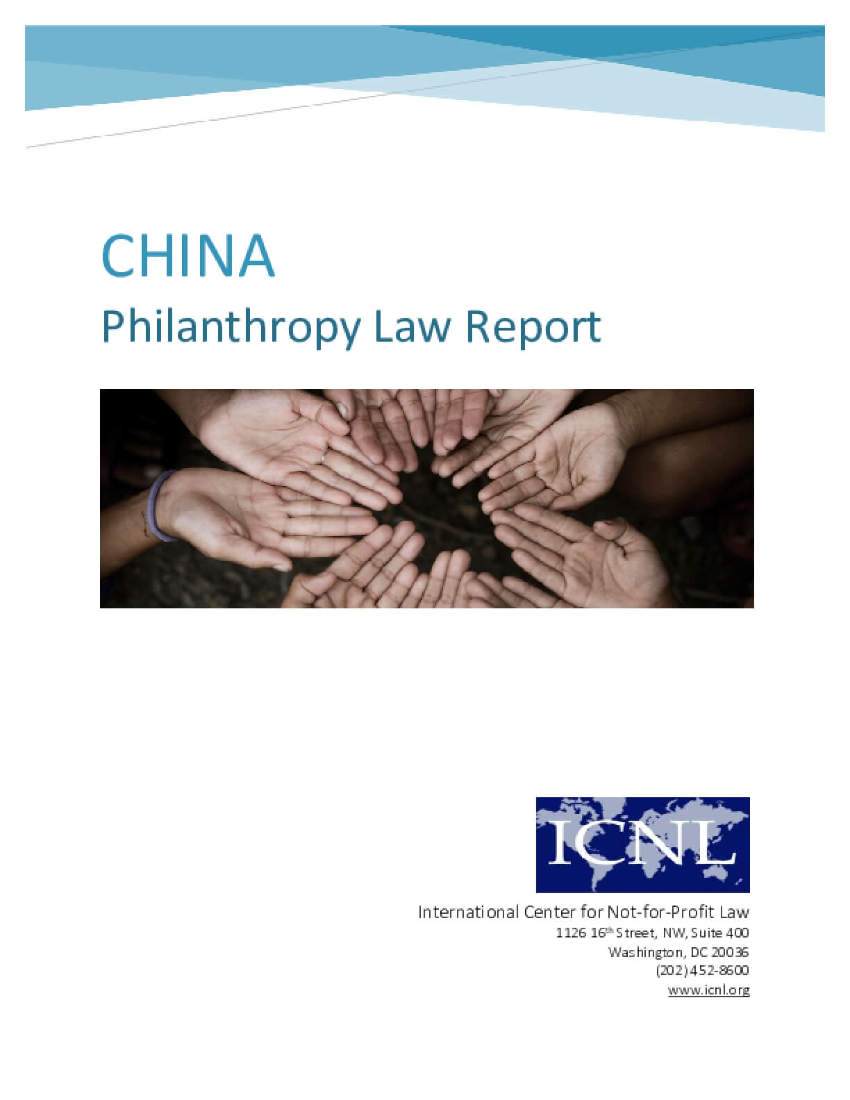 China Philanthropy Law Report