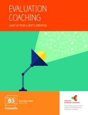 Evaluation Coaching: light up your client's expertise