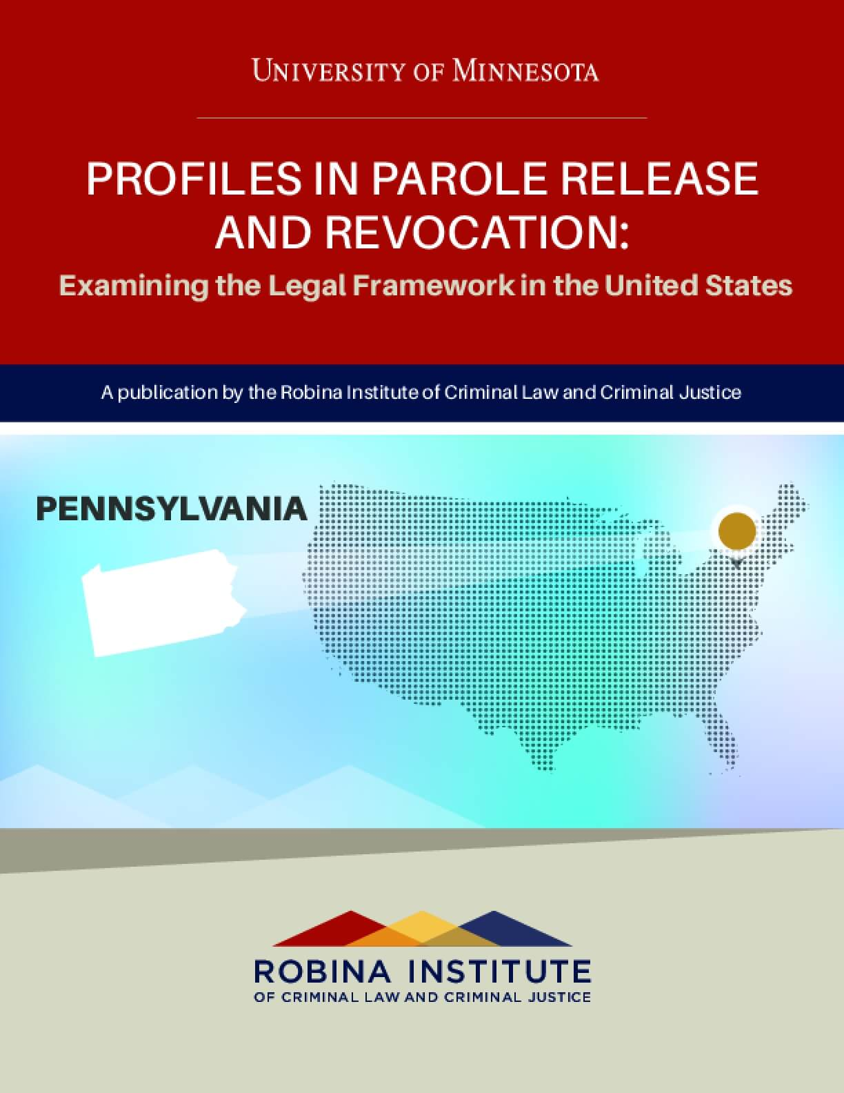 Profiles in Parole Release and Revocation Pennsylvania