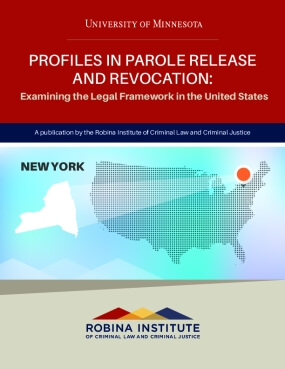 Profiles in Parole Release and Revocation New York