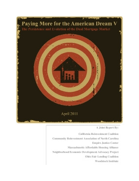 Paying More for the American Dream V: The Persistence and Evolution of the Dual Mortgage Market