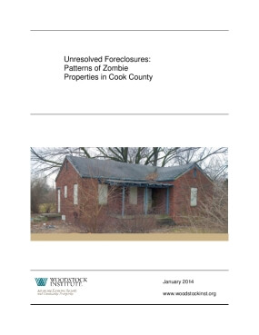 Unresolved Foreclosures: Patterns of Zombie Properties in Cook County