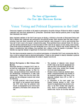 Voice: Voting and Political Expression in the Gulf