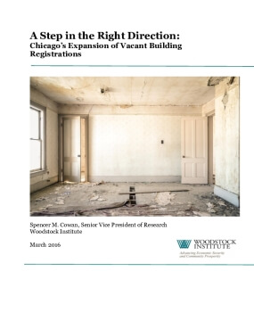 A Step in the Right Direction: Chicago's Expansion of Vacant Building Registrations