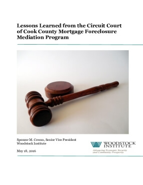 Lessons Learned from the Circuit Court of Cook County Mortgage Foreclosure Mediation Program