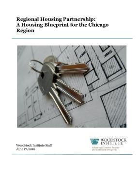 Regional Housing Partnership: A Housing Blueprint for the Chicago Region