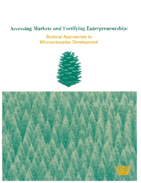 Accessing Markets and Fortifying Entrepreneurship:  Sectoral Approaches to Microenterprise Development