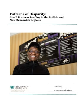 Patterns of Disparity:  Small Business Lending in the Buffalo and  New Brunswick Regions