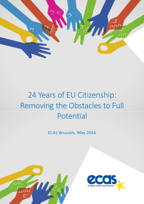 24 Years of EU Citizenship: Removing the Obstacles to Full Potential