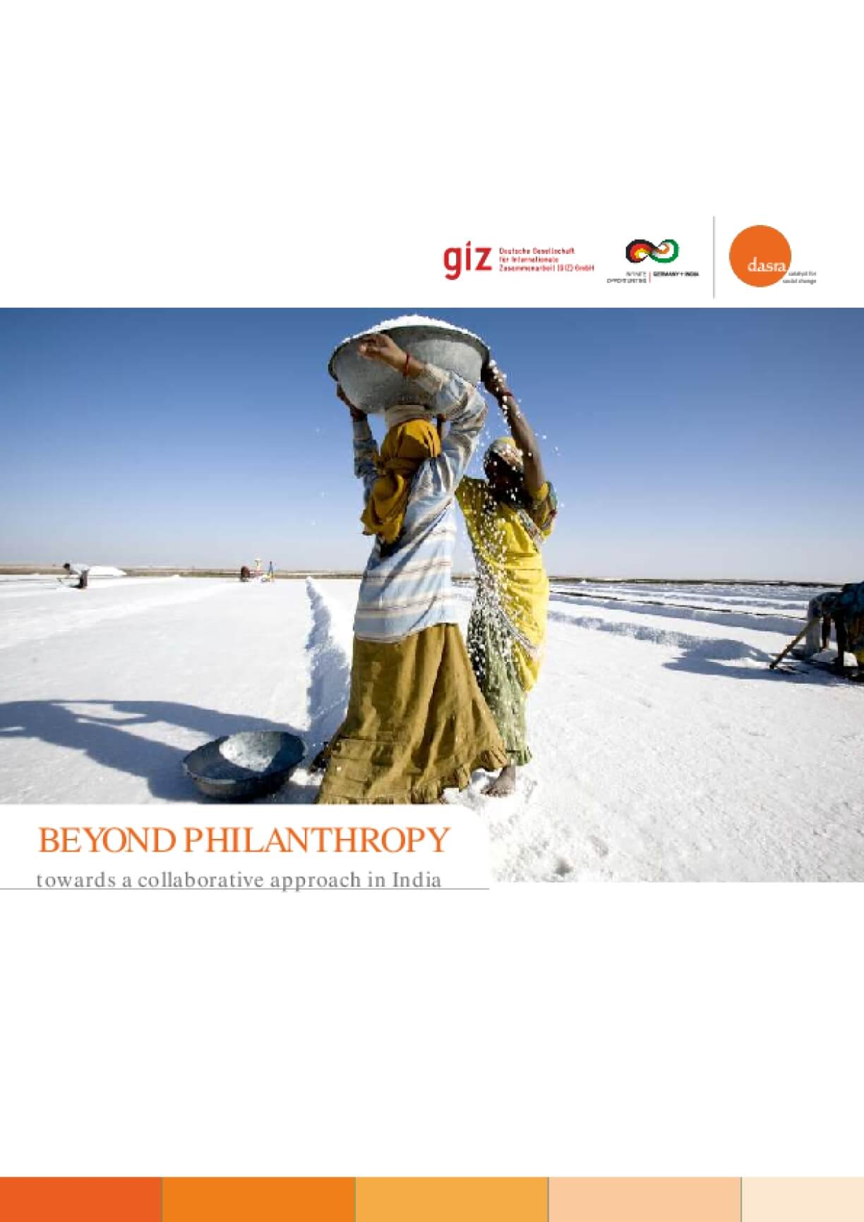 Beyond Philanthropy: Towards a Collaborative Approach in India