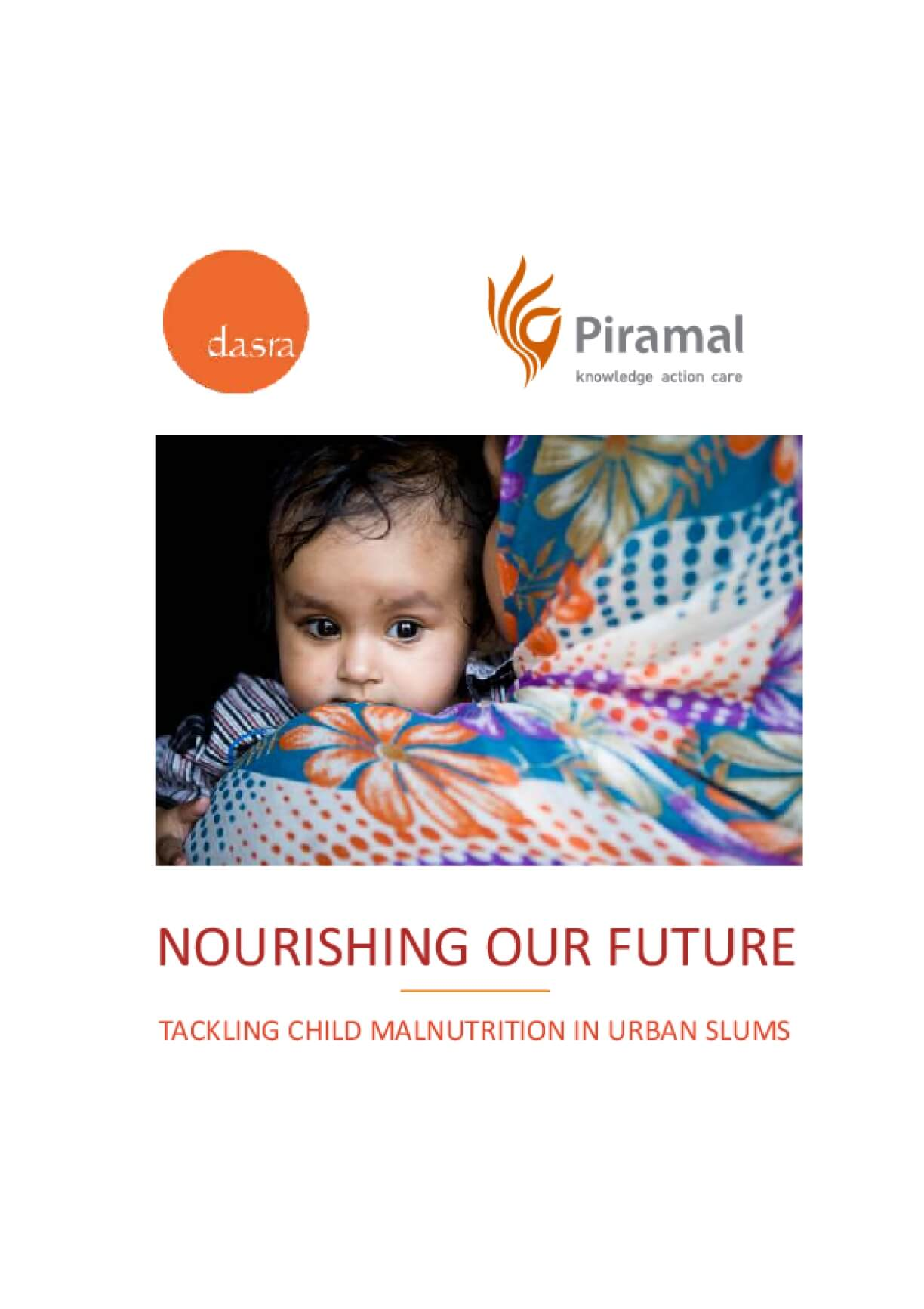 Nourishing Our Future: Tackling Child Malnutrition in Urban Slums