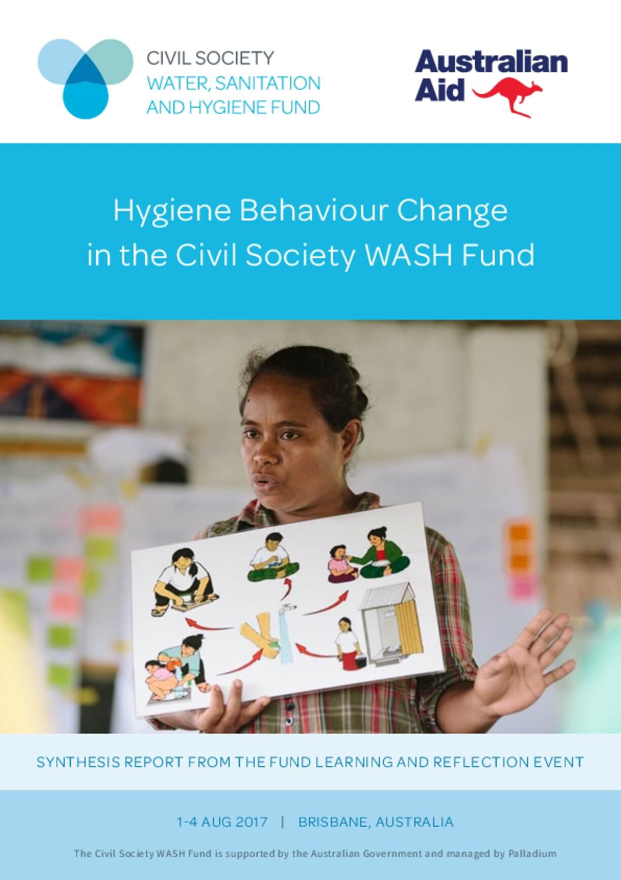 Synthesis Report: Hygiene Behaviour Change in the Civil Society WASH Fund