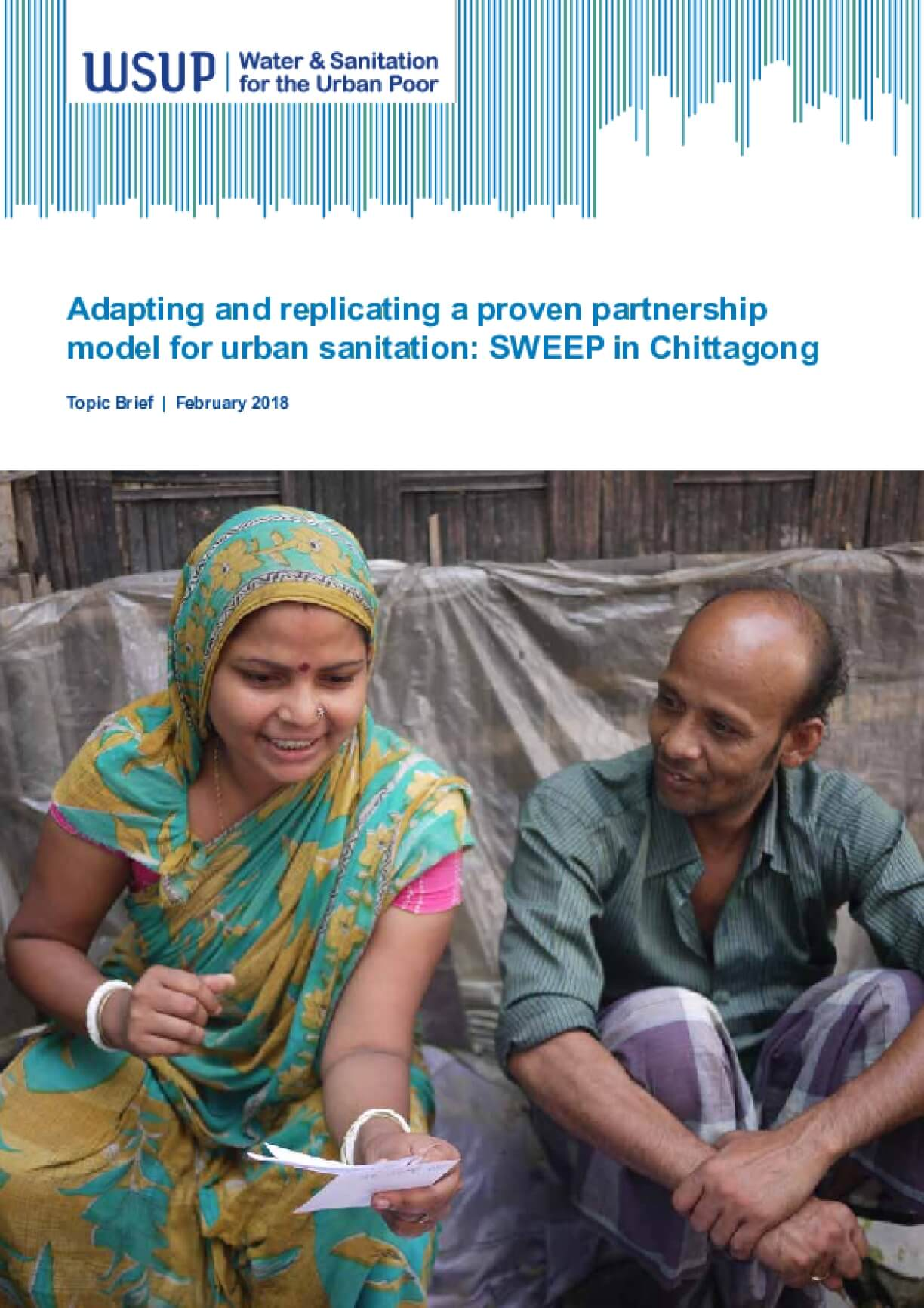 Adapting and replicating a proven partnership model for urban sanitation: SWEEP in Chittagong