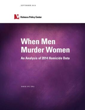 When Men Murder Women: An Analysis of 2014 Homicide Data