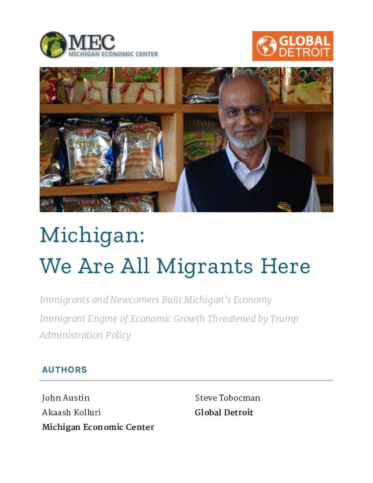 Michigan: We Are All Migrants Here