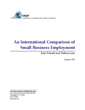 An International Comparison of Small Business Employment