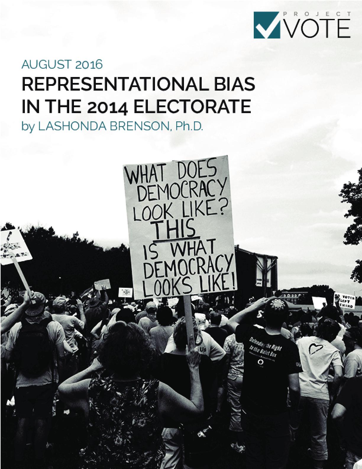 Representational Bias in the 2014 Electorate