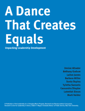 A Dance That Creates Equals: Unpacking Leadership Development