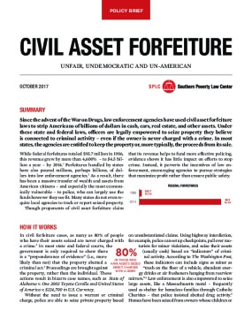 Civil asset forfeiture: Unfair, undemocratic, and un-American