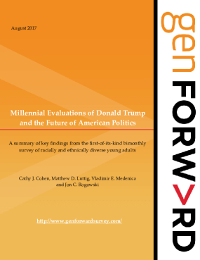 Millennial Evaluations of Donald Trump and the Future of American Politics