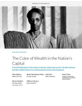 The Color of Wealth in the Nation's  Capital