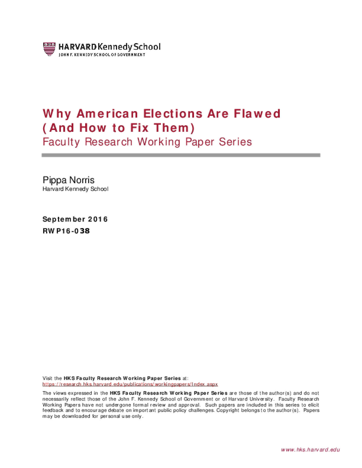 Why American Elections Are Flawed (And How to Fix Them)