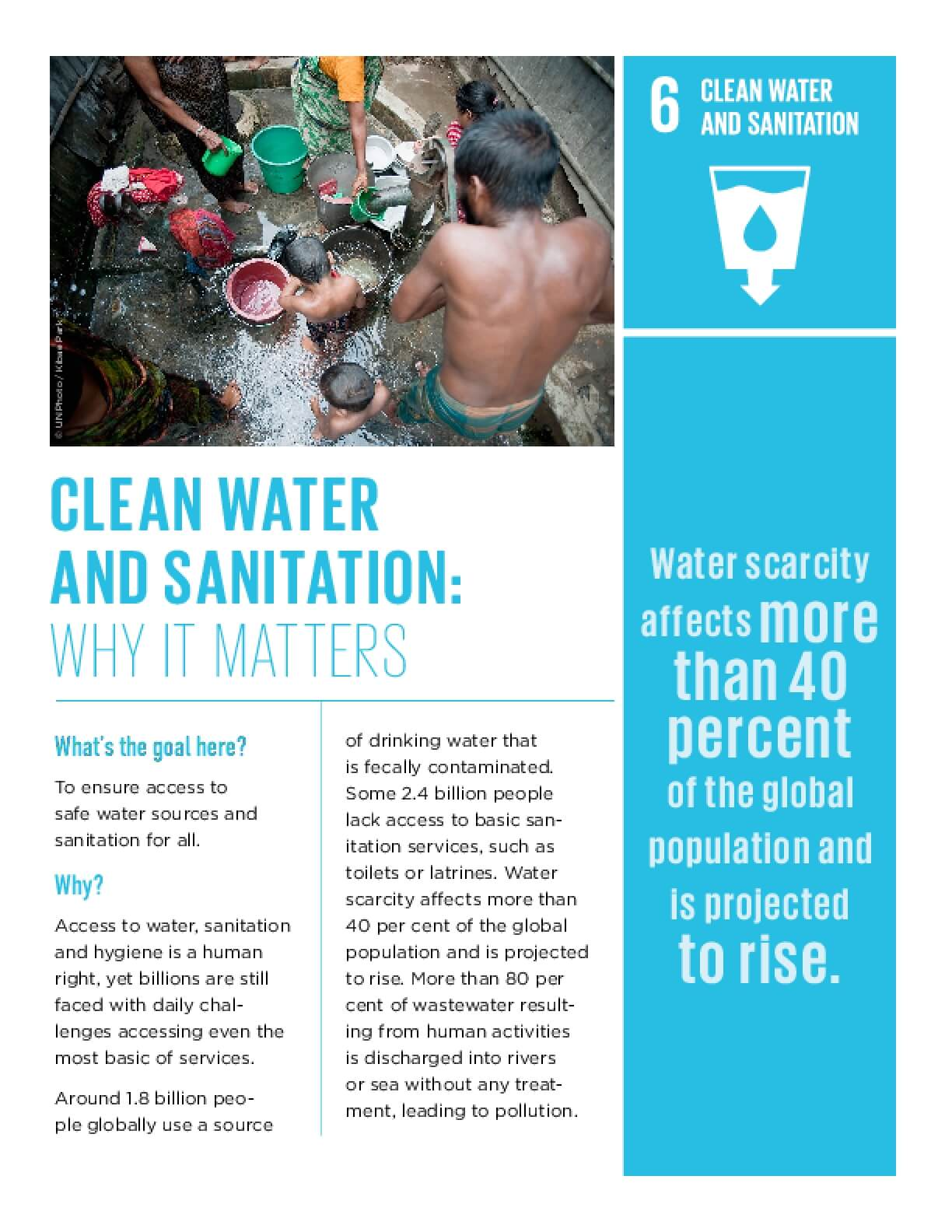 Clean Water and Sanitation: Why It Matters