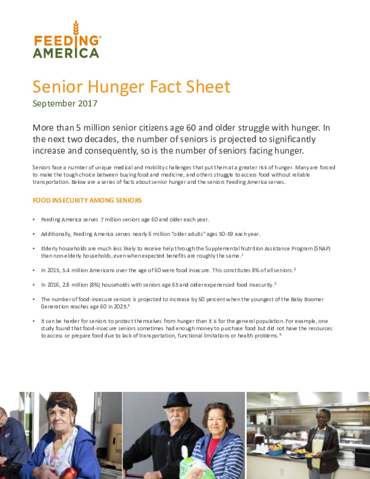 Job for seniors over 60