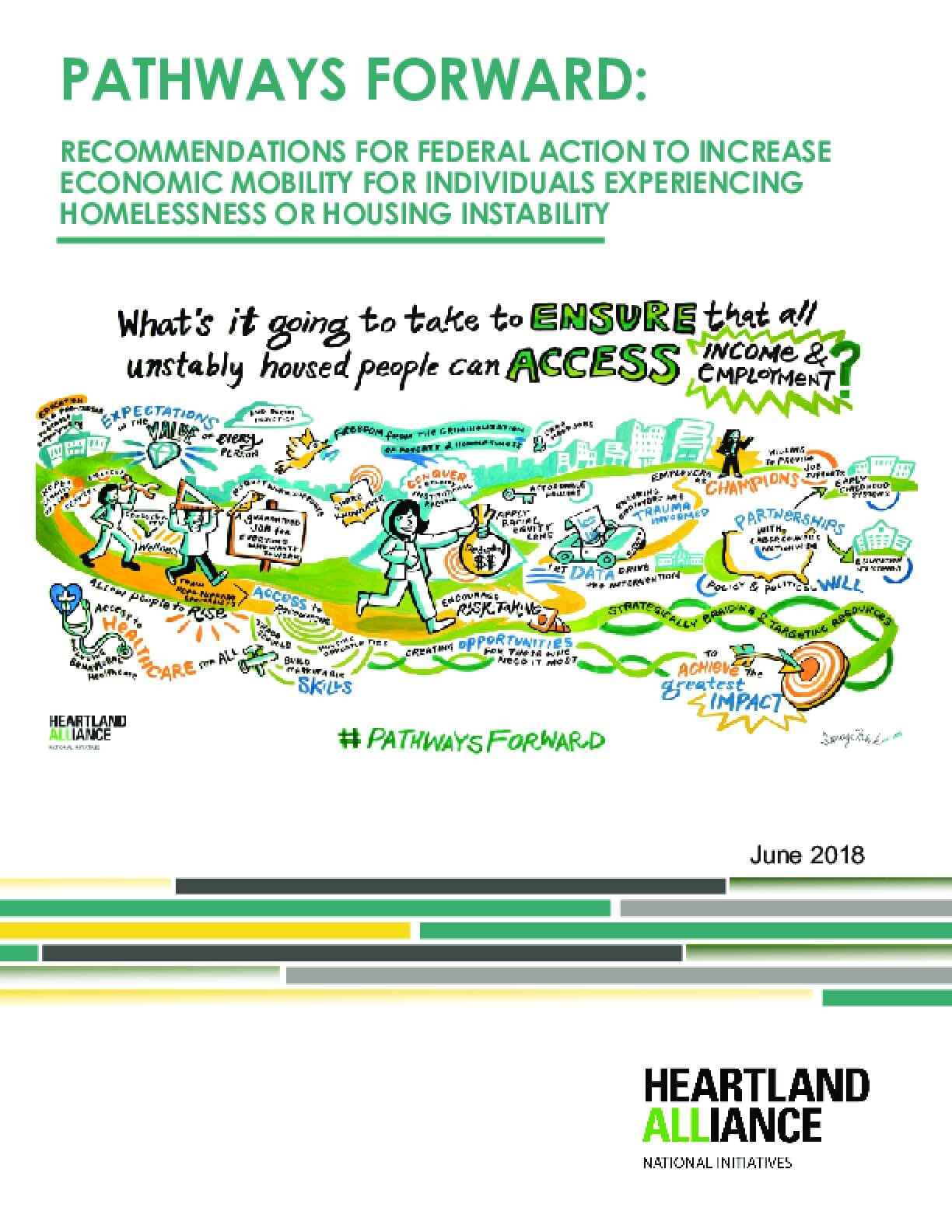 Pathways Forward: Recommendations for Federal Action to Increase Economic Mobility for Individuals Experiencing Homelessness or Housing Instability