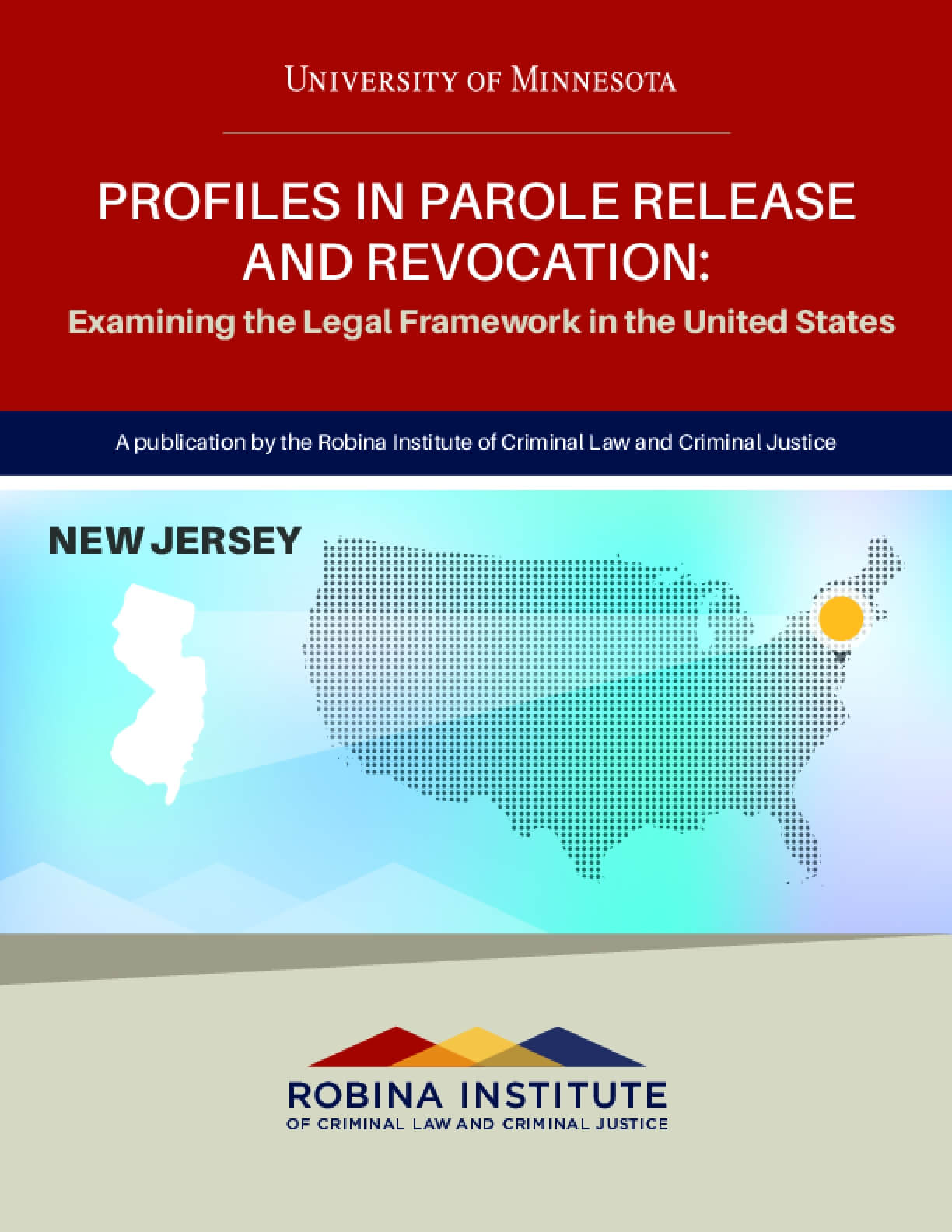 Profiles in Parole Release and Revocation New Jersey