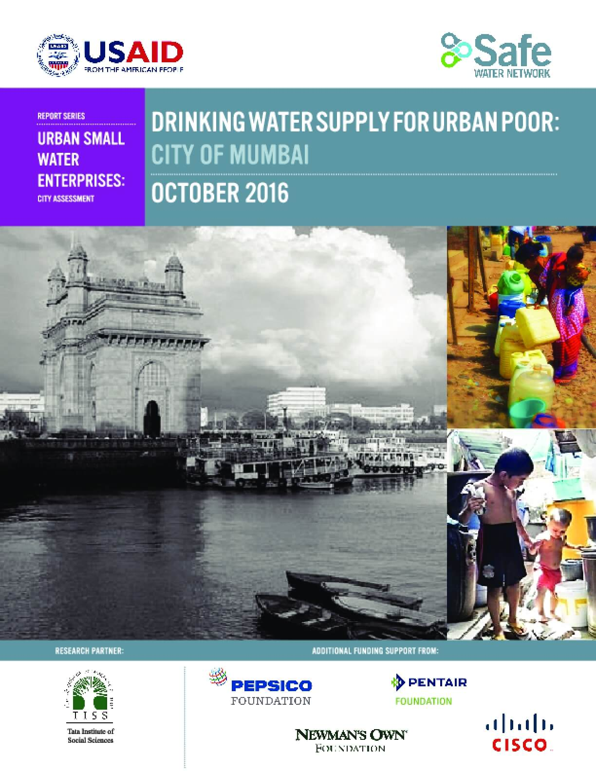 Drinking Water Supply for Urban Poor: City of Mumbai - IssueLab
