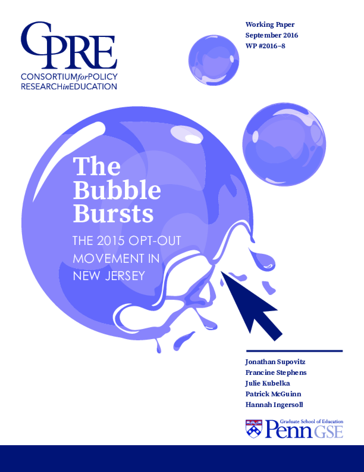 The Bubble Bursts: The 2015 Opt-Out Movement in New Jersey