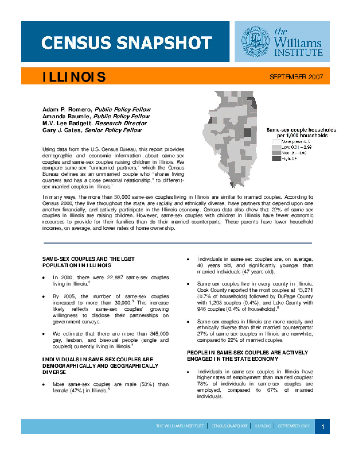 Census Snapshot: Illinois