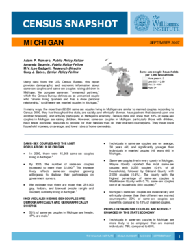 Census Snapshot: Michigan
