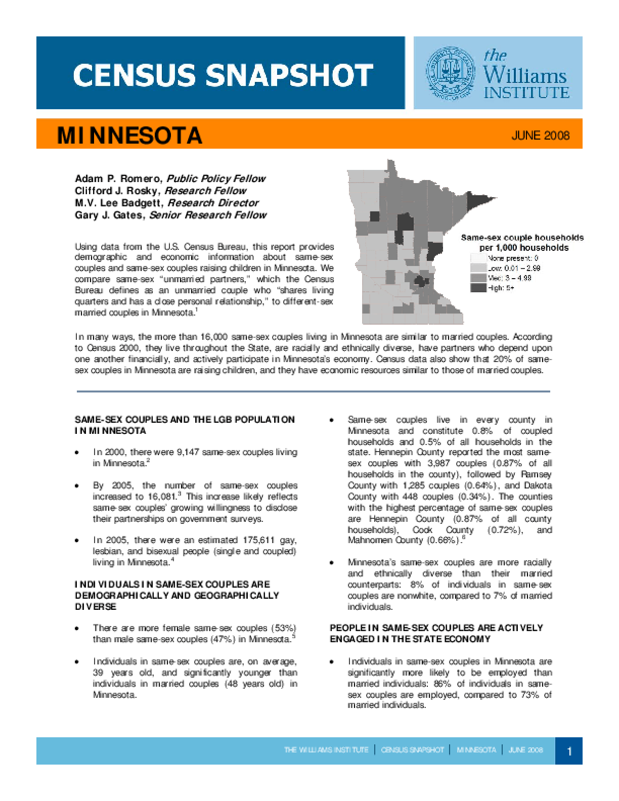 Census Snapshot: Minnesota