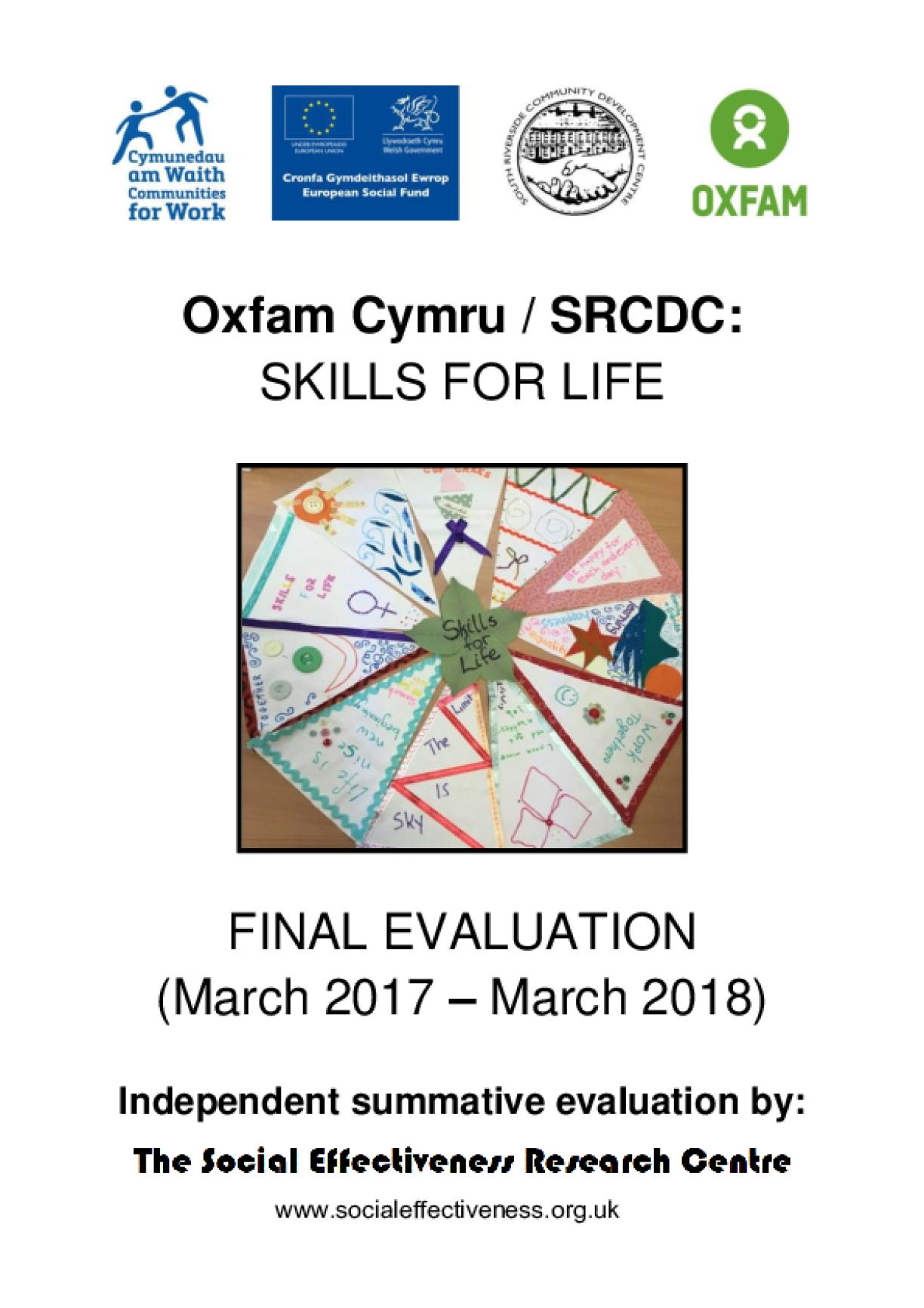 Oxfam Cymru and South Riverside Community Development Centre Skills for Life Project: Final evaluation report