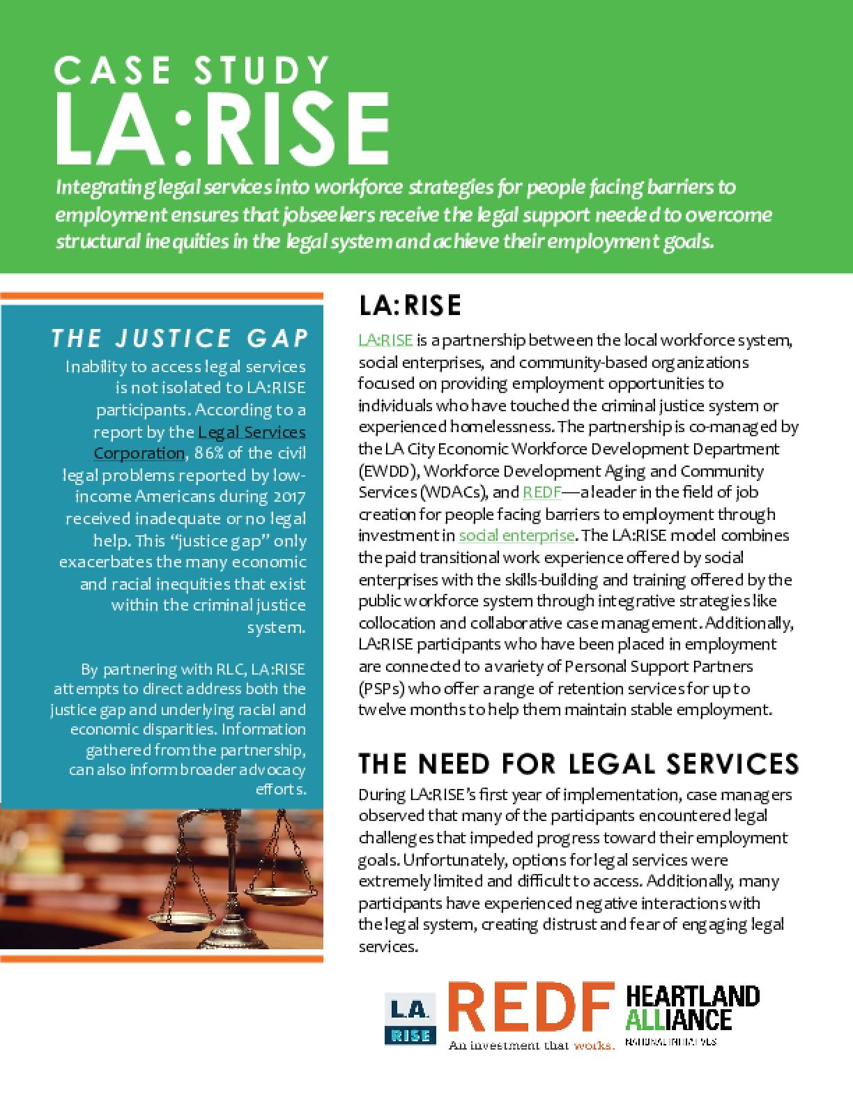 Case Study - LA:RISE