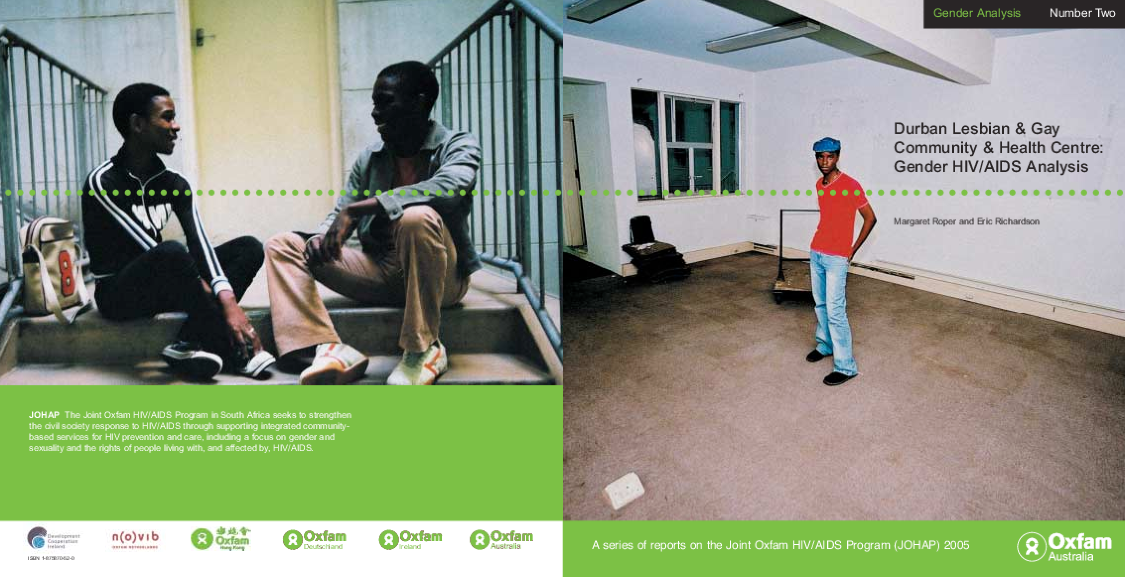 Durban Lesbian and Gay Community and Health Centre: Gender HIV/AIDS analysis