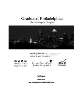 Graduate! Philadelphia: The Challenge to Complete