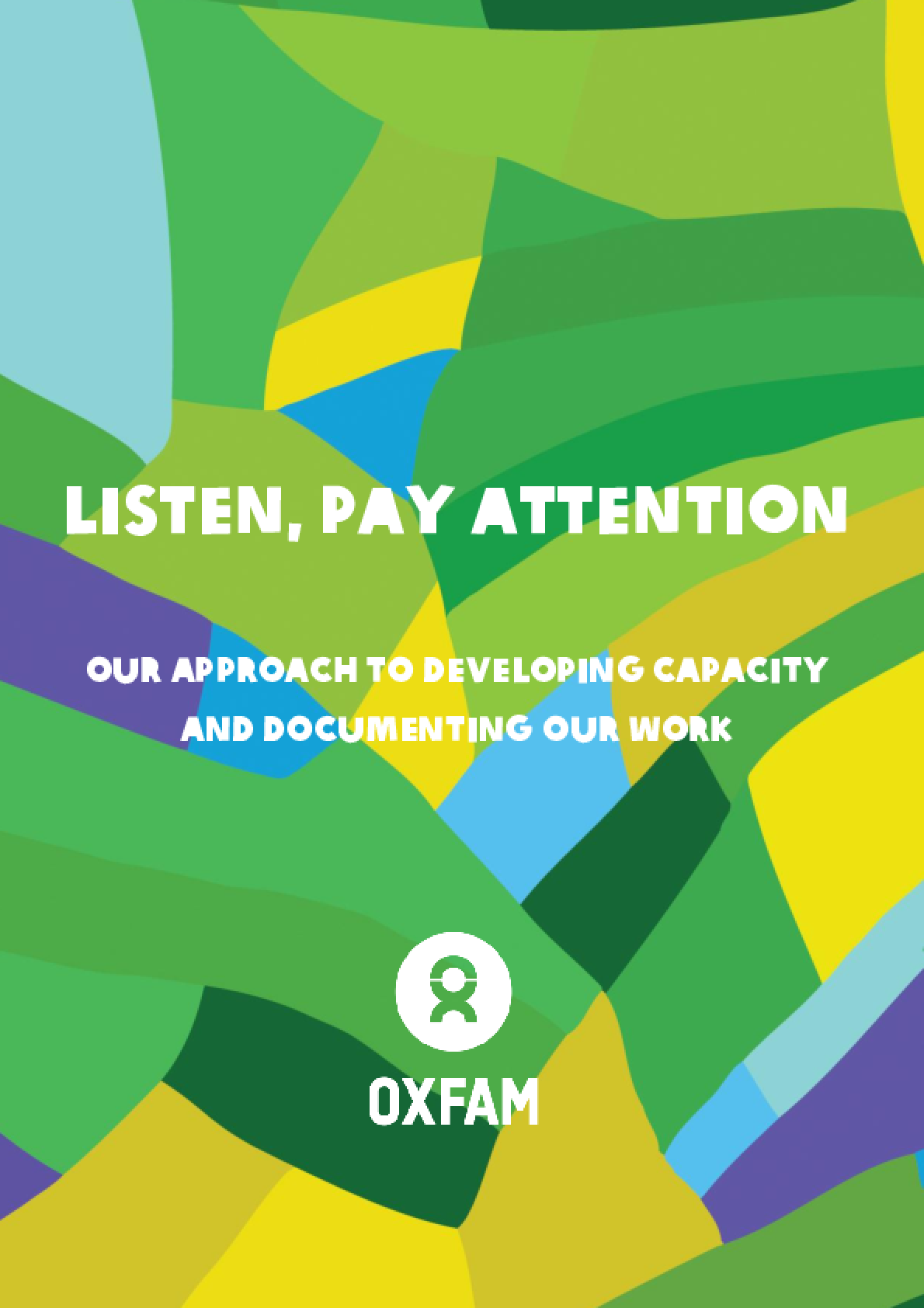 Listen, Pay Attention: Our approach to developing capacity and documenting our work