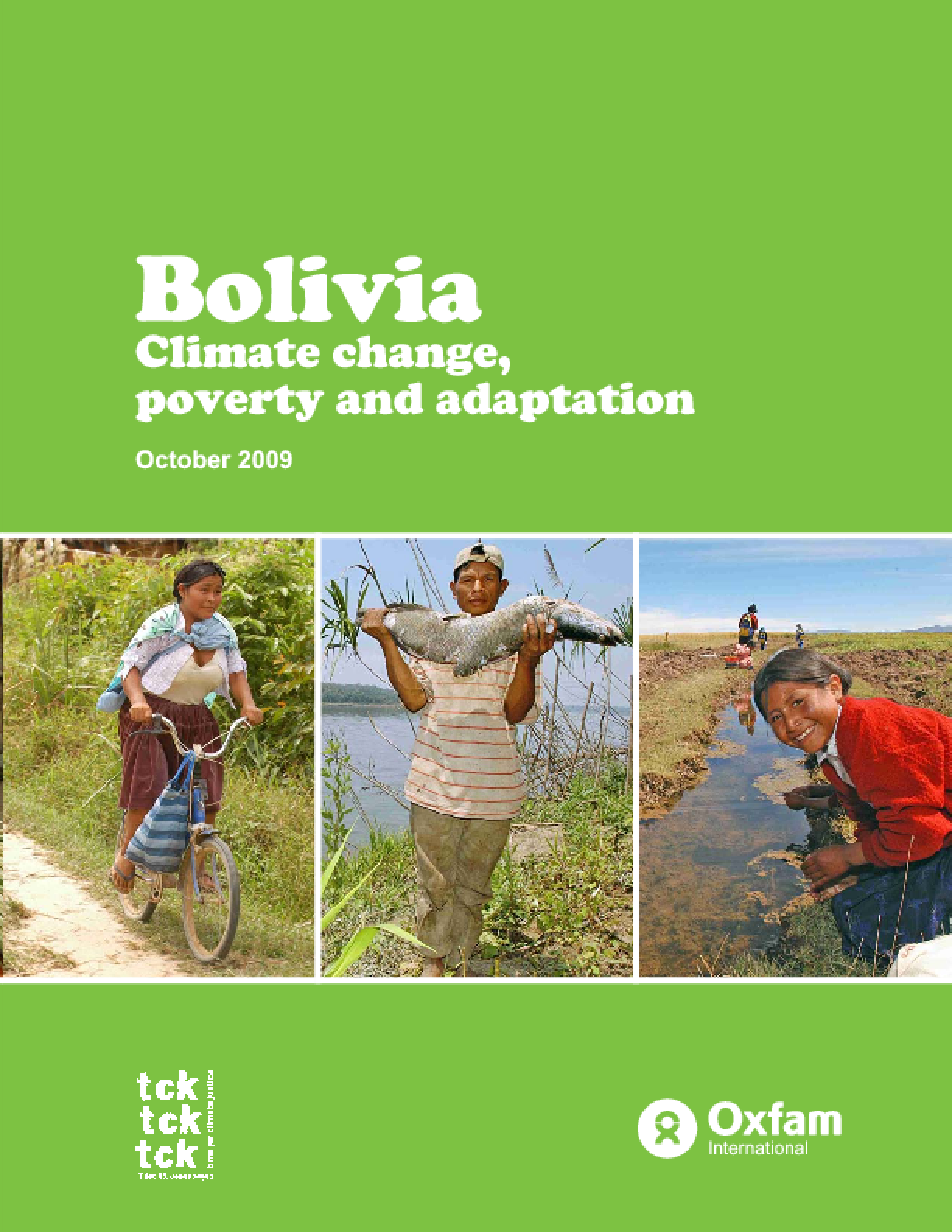 Bolivia: Climate change, poverty and adaptation