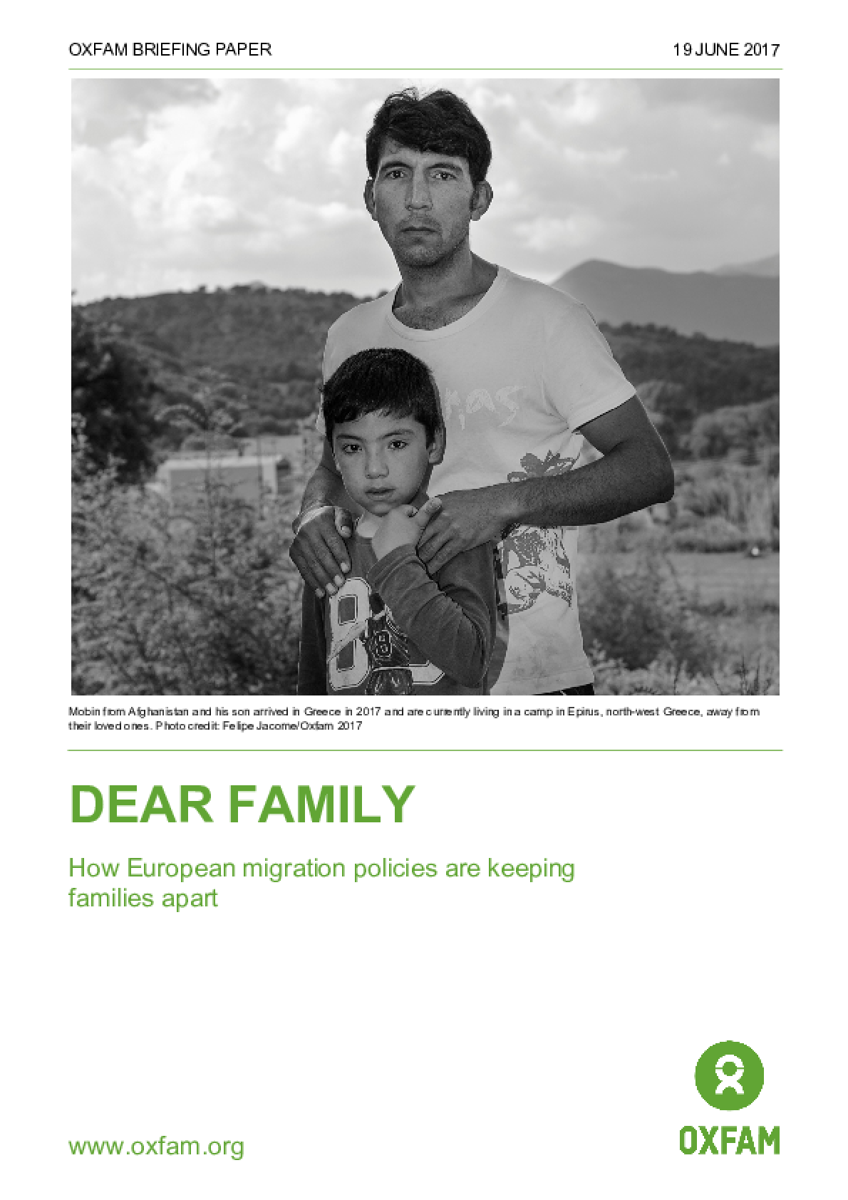 Dear Family: How European migration policies are keeping families apart
