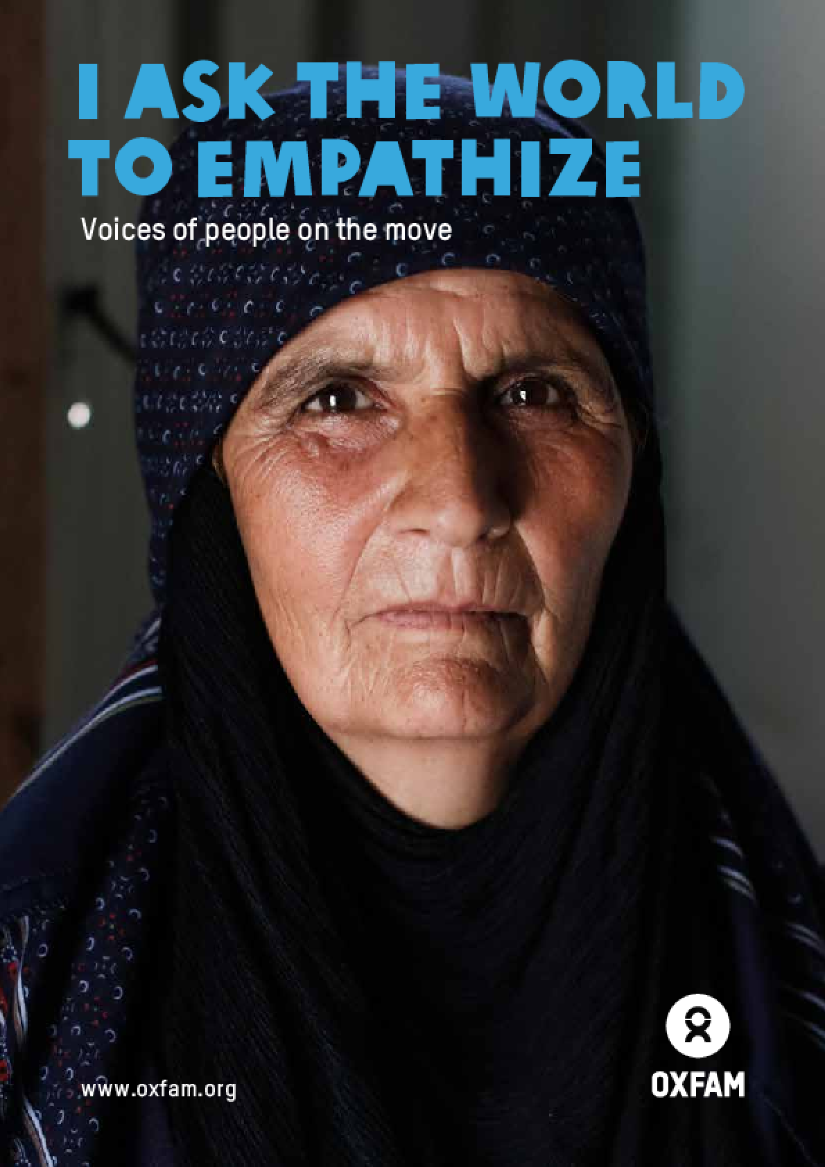 I Ask the World to Empathize: Voices of people on the move