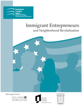 Immigrant Entrepreneurs and Neighborhood Revitalization