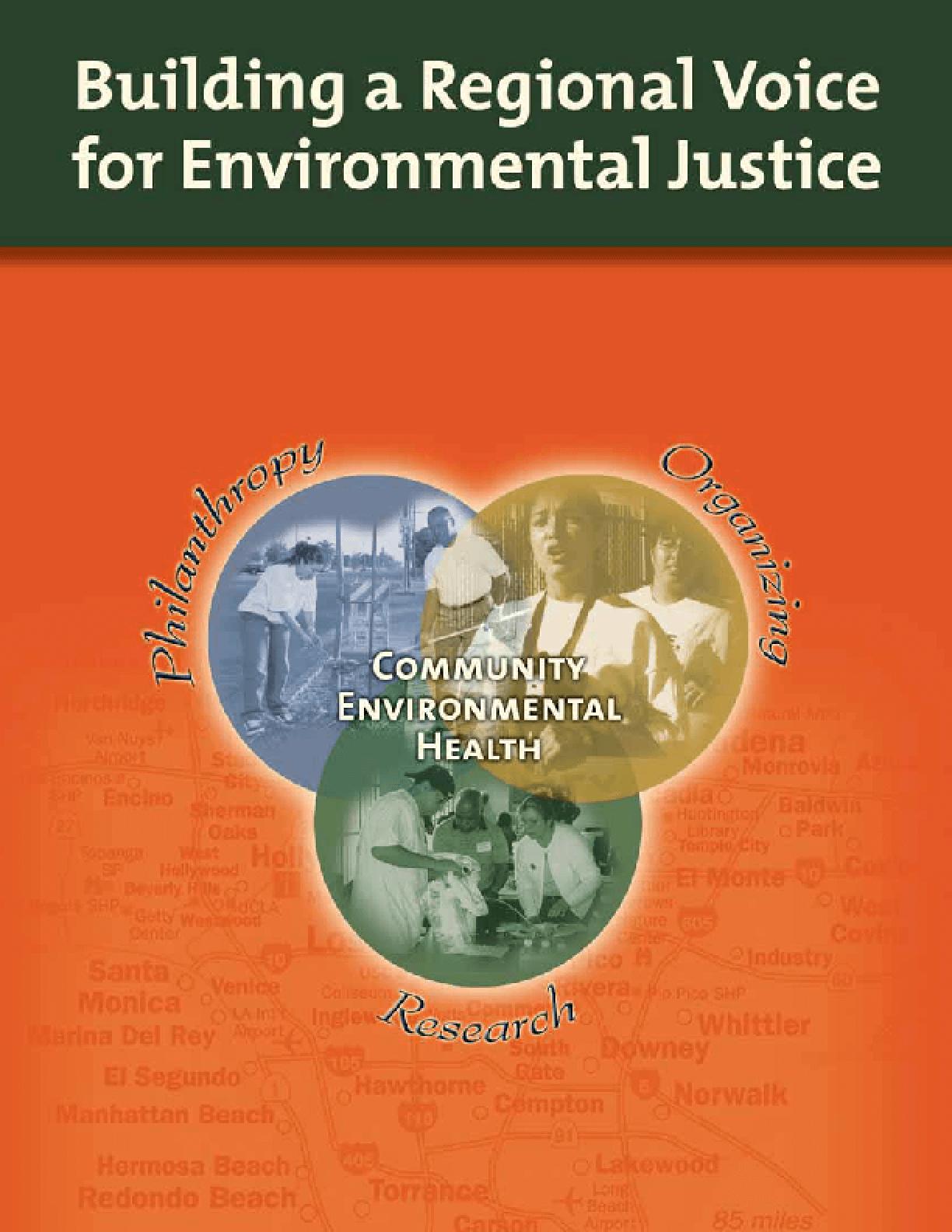 Building Healthy Communities in Environmental Justice Areas