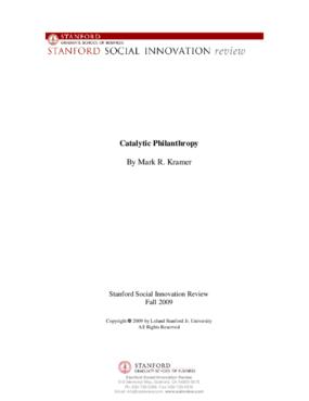 Catalytic Philanthropy