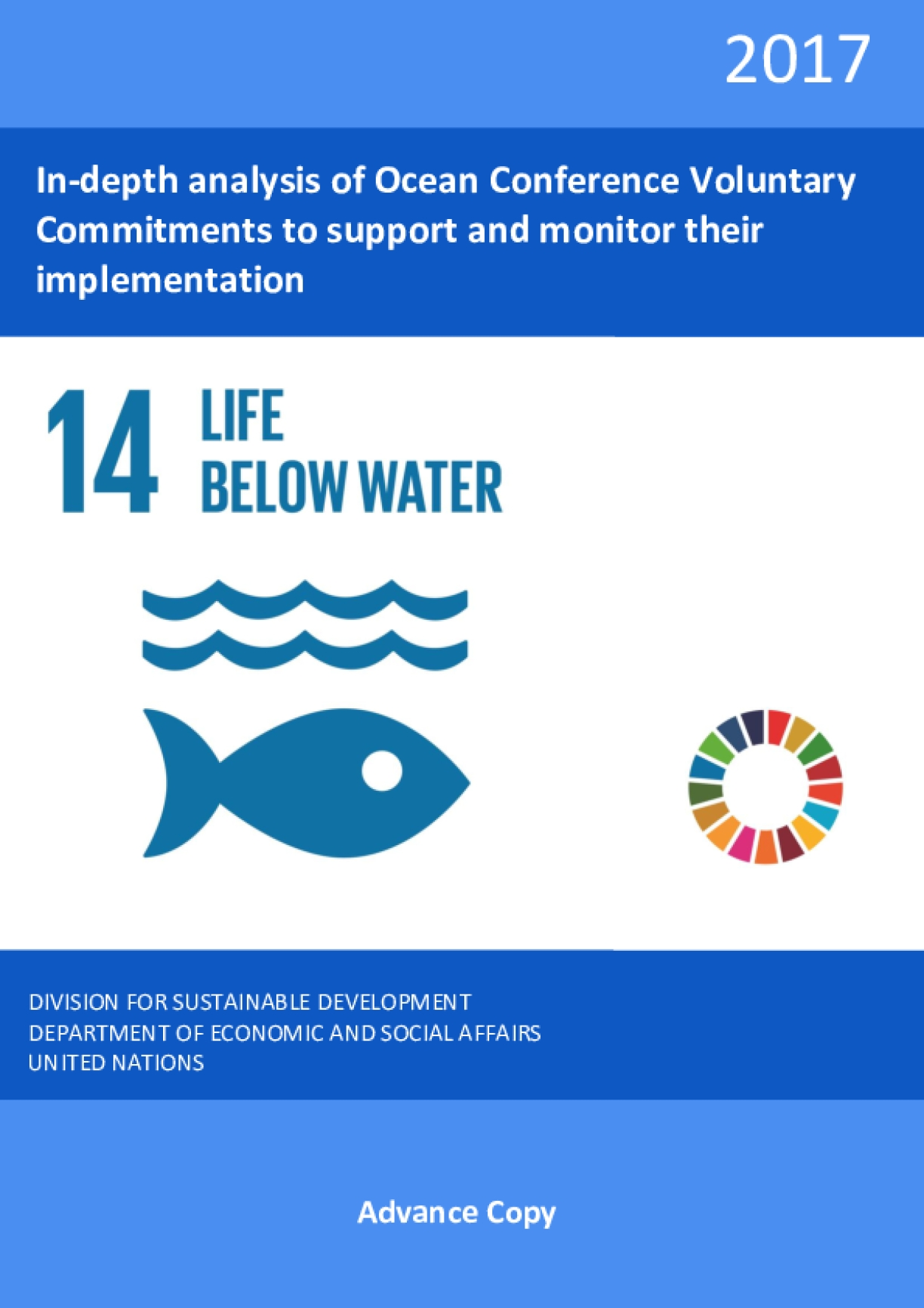 In-depth Analysis of Ocean Conference Voluntary Commitments to Support and Monitor their Implementation