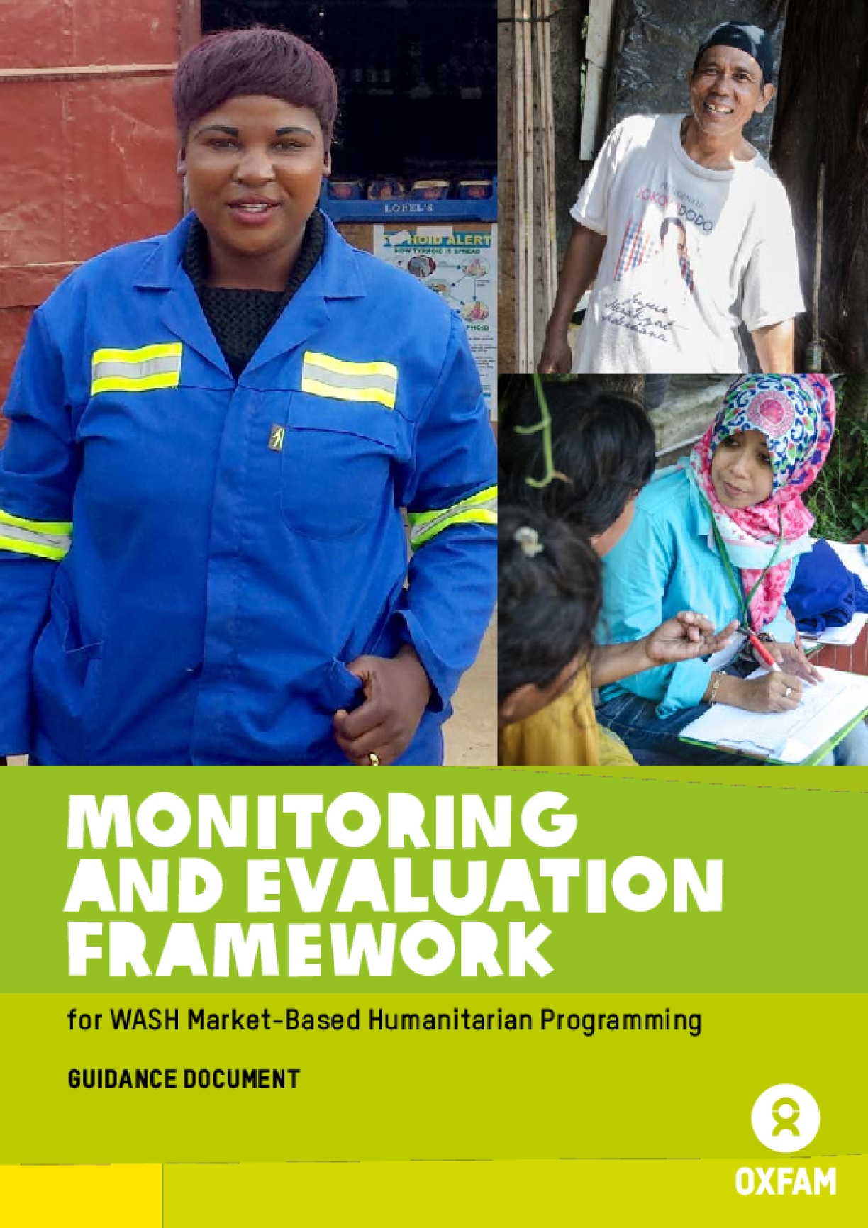Monitoring and Evaluation Framework for WASH Market-Based Humanitarian Programming
