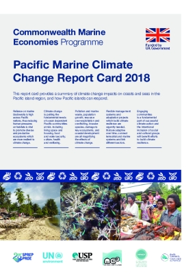 Pacific Marine Climate Change Report Card 2018